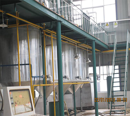 5T hot sales batch soybean crude oil refinery