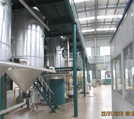 20T Groundnut crude oil refinery machine