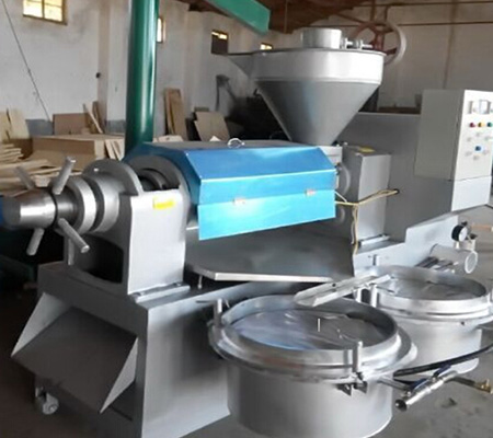 High capacity 6YL-130 automatic olive oil press machine