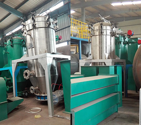 Vertical SS316 food grade coconut oil filter press