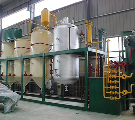 3T corn oil small oil refinery mini crude oil refinery