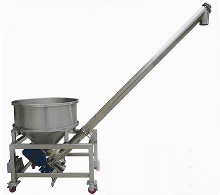 Food grade mobile screw conveyor price earth auger grain auger