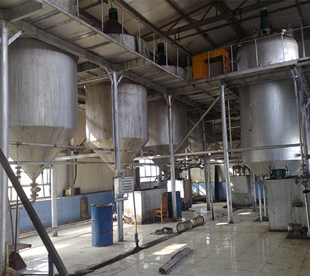 20T Soybean oil refinery plant crude oil refining machine