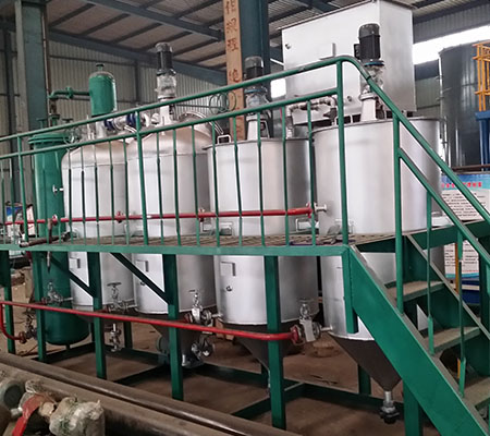 Peanut mini crude oil refinery small scale oil refinery