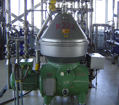 200T physical rice bran crude oil refinery plant