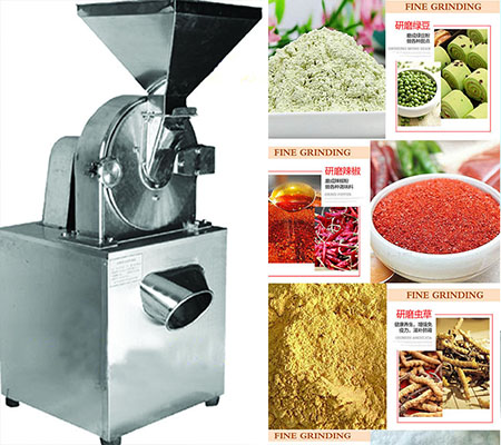 FL-150 Wind Wheel Type Good Effect Chili Grinder Machine