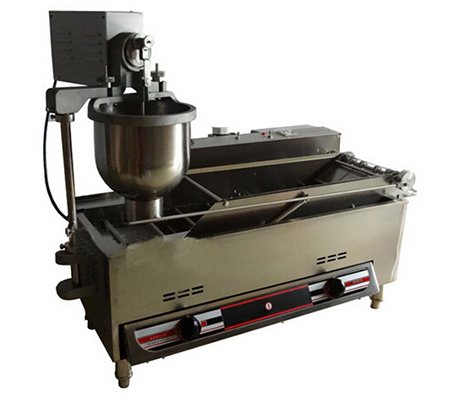 Donut maker gas and electricity heat commercial automatic donut making machine