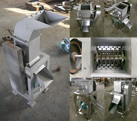 304 stainless steel fruits cutting machine for crushing apple pear lemon pineapple orange vegetable cutter
