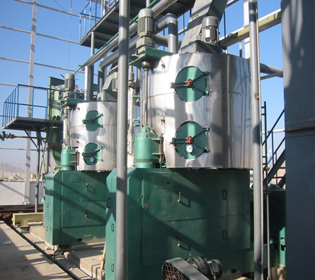 300T continuous coconut oil making machine