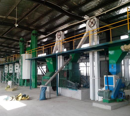 Palm oil processing plant cottonseed oil plant