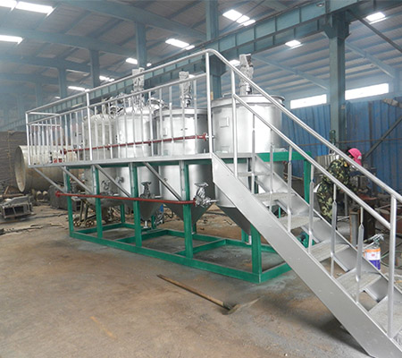 Sunflower oil refining machine edible oil refinery plant