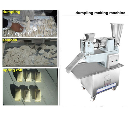3500-7200 pieces per hour small Automatic dumpling making machine